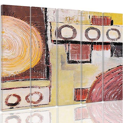 Feeby Frames Tableau Multi Panneaux 5 Parties Impression Sur