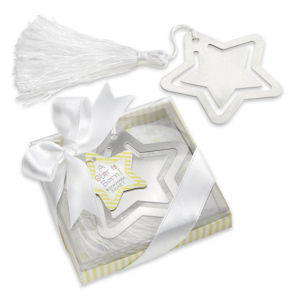 Amazon.com : kateaspen Metal Bookmark with White-Silk Tassel, A Star ...