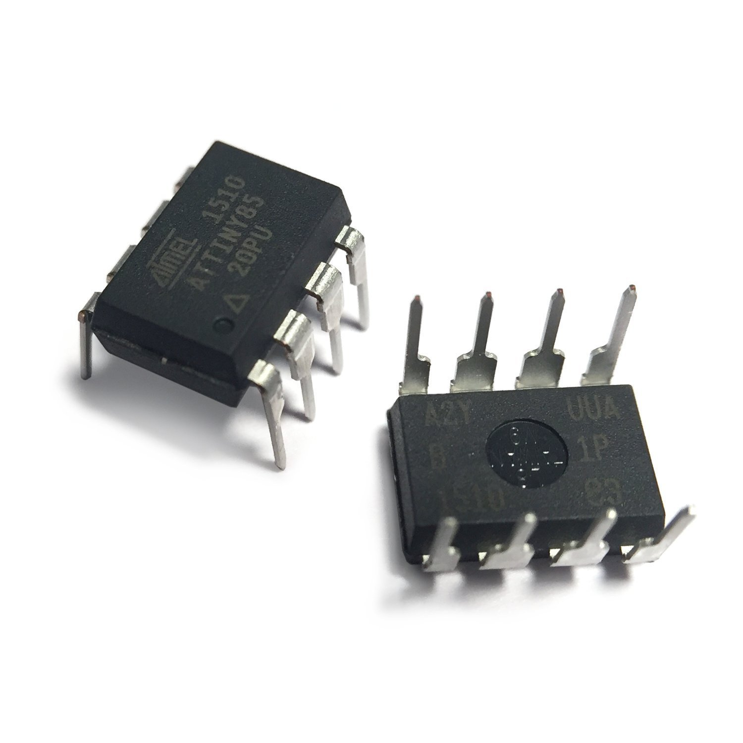Attiny85 Microcontroller 8 Pin Pdip Computers Atmel Avr Mcu Family Expanded Accessories