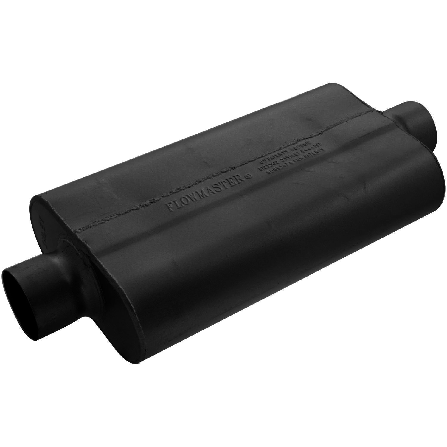 Flowmaster 943050 50 Delta Flow Muffler - 3.00 Center IN / 3.00 Center OUT - Moderate Sound by Flowmaster (Image #1)