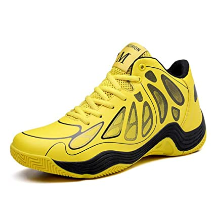 ccee798e817ef Amazon.com: HEmei Men's Basketball Shoes Spring Fall Lace-up ...
