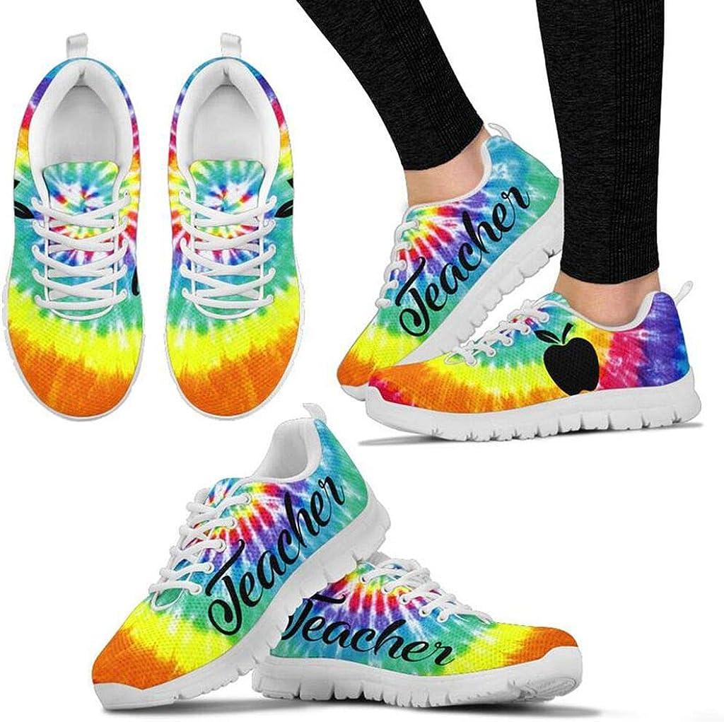 Footwear by CasseyDesi Teacher Appreciation Day for Women Shoes Sneakers Student Gift Idea Wt