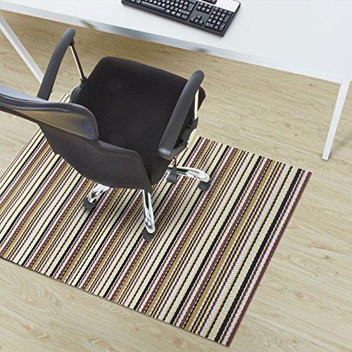 Design Bodenschutzmatte Asti in 6 Größen | dekorative Unterlegmatte für Bürostühle oder Sportgeräte (200 x 180 cm)
