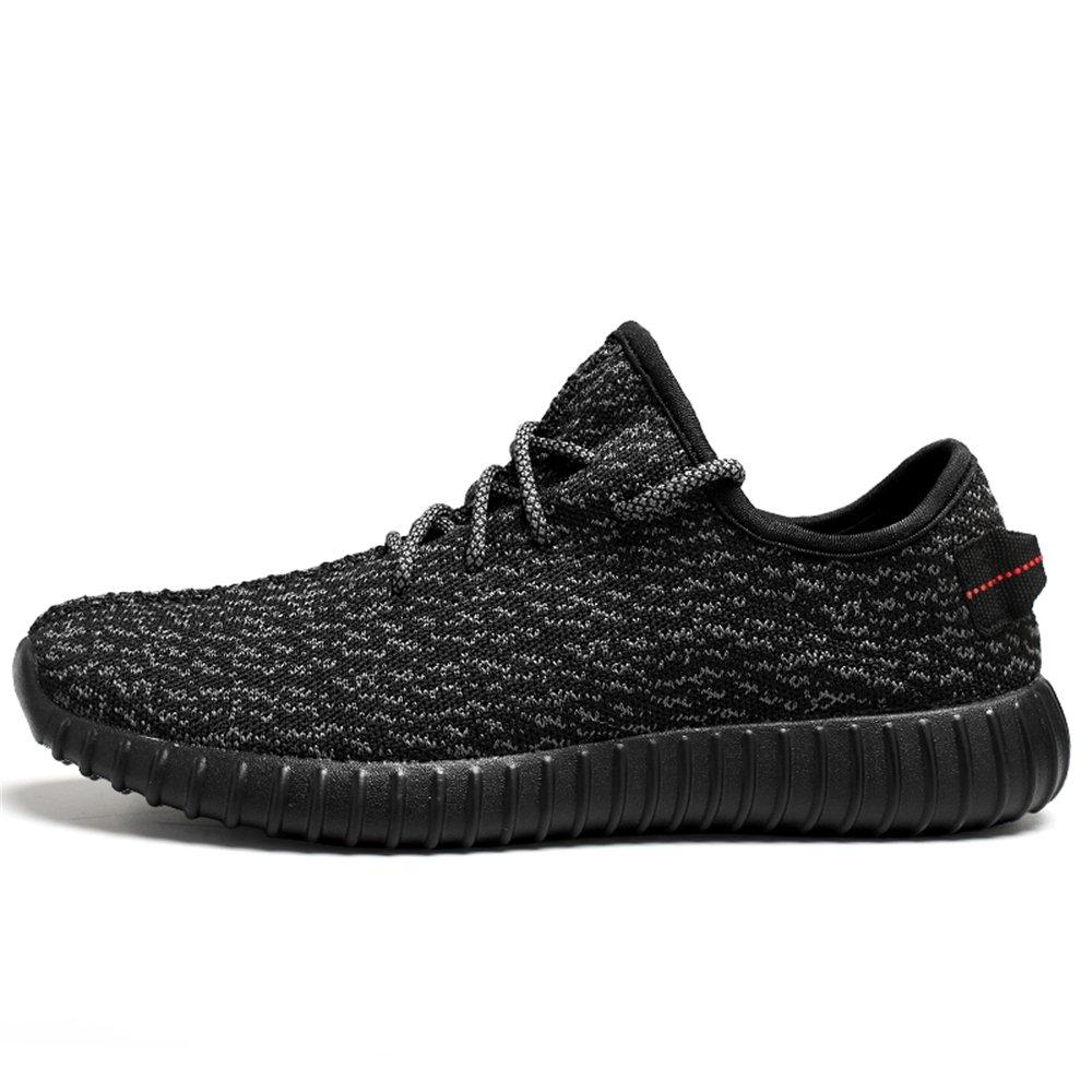 Saibhreas Men's Women's Running Shoes Lightweight Mesh Sneakers 9 Breathable Casual B076V4KFFV Women 9 Sneakers B(M)US=Men 8 D(M)US/41EU|Black 31f26b