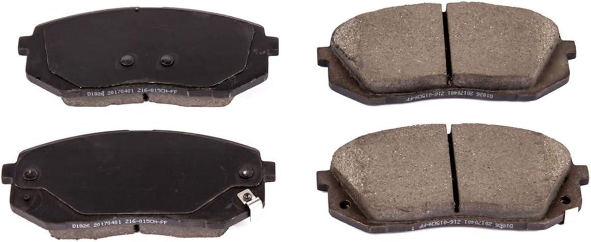 Power Stop 16-1826 Z16 Evolution Front Ceramic Brake Pads