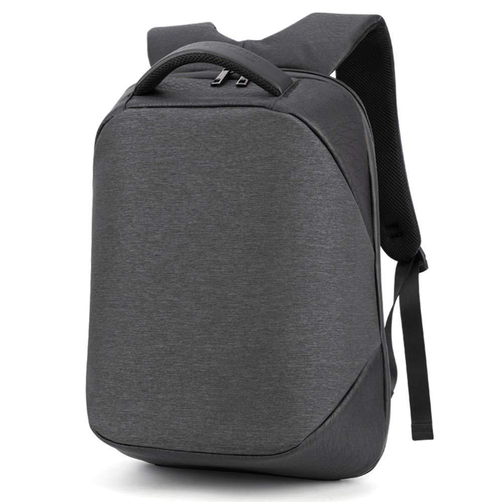 TDPYT Outdoor-Reise-Umhängetasche/Geschäft Männlichen Tasche USB-Multifunktions-Anti-Diebstahl-Computer 18 Zoll Grau