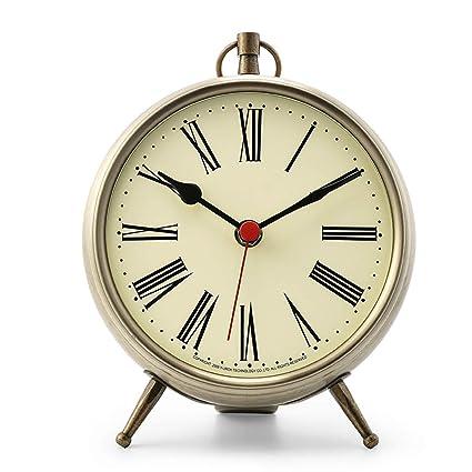 Relojes de mesa para la Sala de Estar Decoración Relojes de Escritorio Dormitorio con Pilas Hogar