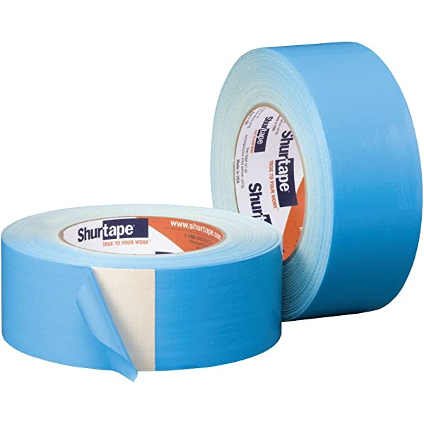 2 in Natural x 75 ft. Shurtape DF-545 Double Coated Cloth Carpet Tape