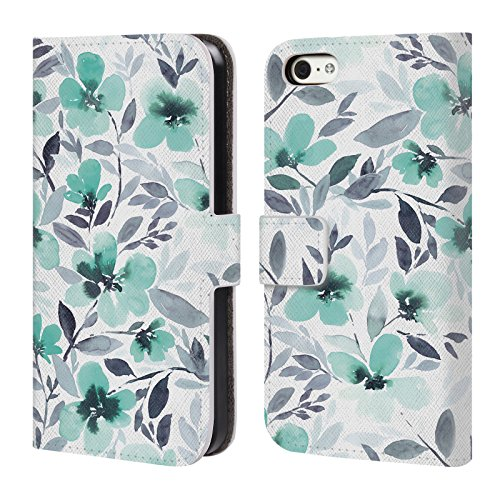 official-jacqueline-maldonado-espirit-mint-patterns-leather-book-wallet-case-cover-for-apple-iphone-