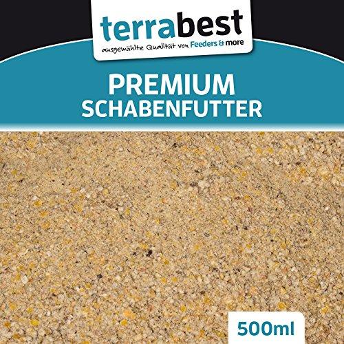 Terrabest Premium Schabenfutter Schokoschaben Waldschaben Insektenfutter (EUR 6, 98/L)