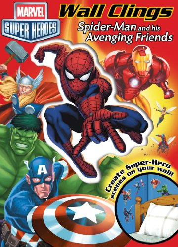 Marvel Spider-Man and His Avenging Friends: Wall Clings