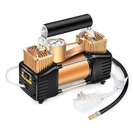 WERSDF Bomba de Aire de Doble Cilindro de Alta presión Compresor de Aire eléctrico, para