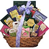 GreatArrivals Gift Baskets Indulge and Delight Mother's Day Gourmet Snacks and Sweets