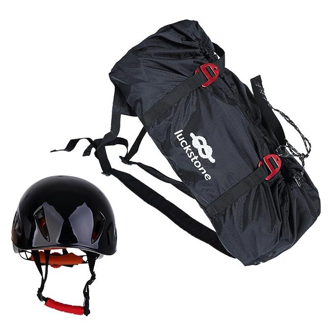Amazon.com: Magideal plegable bolsa de cuerda de escalada en ...