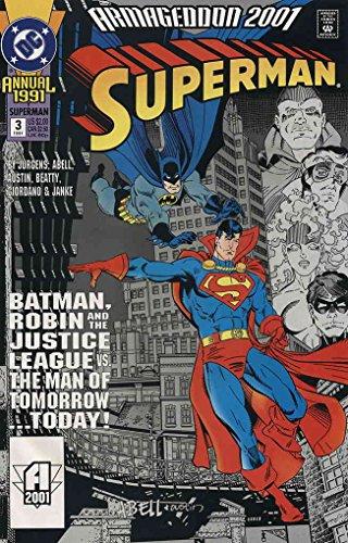 (Superman (2nd Series) Annual #3 VF/NM ; DC comic book)