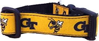 product image for NCAA Georgia Tech Yellow Jackets Dog Collar (Team Color, Large)