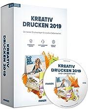 FRANZIS Kreativ Drucken 2019|2019|offline nutzbar|Ohne Abo|Für PC Windows 10 / 8.1 / 8 / 7|Disc|Disc