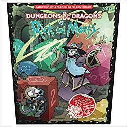 Dungeons Dragons Vs Rick And Morty D D Tabletop Roleplaying Game Adventure Boxed Set Wizards Rpg Team Zub Jim 9780786966882 Amazon Com Books