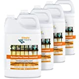 Simply Floors FLC-00063 Hardwood Floor Cleaner - [Pack of 4 - 1 gallon bottles]  Safe Wood Floor Surface Cleaner Concentrate Economical and Professional Strength