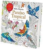capa de Paraíso Tropical. Uma Aventura de Colorir
