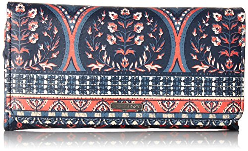 Roxy My Long Eyes Printed Tri-Fold Wallet Wallet, CHINA BLUE NEW MAIDEN SWIM, One Size