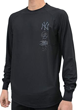 New Era Hombres Ropa superior   Camiseta de manga larga Stealth NY Yankees   Amazon.es  Deportes y aire libre f24752eb3c9
