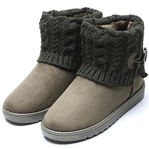 Size Boots Better Annie Warm Buckle Platform Plus Ankle Woman Woolen Winter Shoes Boots Bottes Women 41 Snow 35 Green Mujer New qqE17