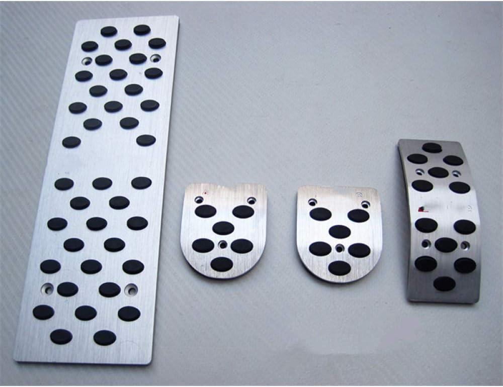 JNXZHQC Autopartes de aleación de Aluminio del Pedal del Coche.para Audi A1 A4 A3 A5 A6 A6L A7 A8L Q5