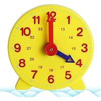 Vxhohdoxs Montessori Reloj de aprendizaje para estudiantes, reloj