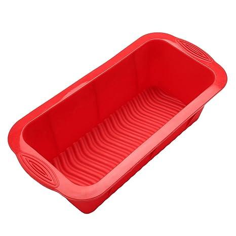 BESTOMZ Molde para Pan de Silicona / Molde para bizcochos o pan - Molde para Torta