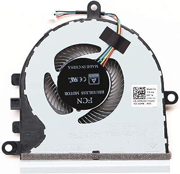 DXCCC Ventilador de Repuesto para Ordenador portátil para DELL Inspiron 5593 15-5575 15-5570 Ventilador de refrigeración de CPU CN-07MCD0 (Nota: Este Ventilador es sólo Apto para máquinas sin CD-ROM): Amazon.es: Electrónica