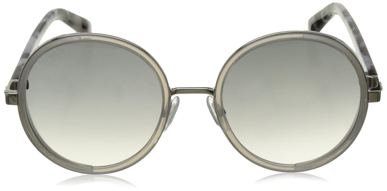 bd82ff894ee1 Amazon.com  Jimmy Choo Women s Andie S Palladium Gray Mirror Silver   Clothing