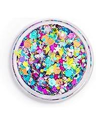 Uniglitter - Glitter Gel Rainbow Unicorn - Festival Glitter - Glitter Makeup - Chunky Cosmetic Glitter | Dance - Eyes, Lips, Face | Face Paint Glitter