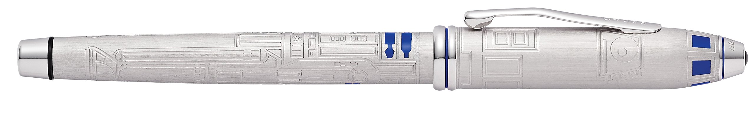 Cross Townsend Star Wars Limited Edition R2-D2 Fountain Pen with Two-Tone Rhodium-Plated Solid 18KT Gold Fine Nib by Cross (Image #10)