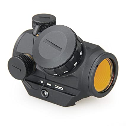 Amazon.com: 3 Moa 1 x 21.9 yard combate Red Dot Scope HD ...