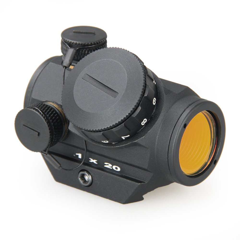 Canis Latrans 3 MOA Red Dot Sight 1x20mm Combat Red Dot Scope HD Reflex Sight for 21.2mm Rail by Canis Latrans (Image #1)