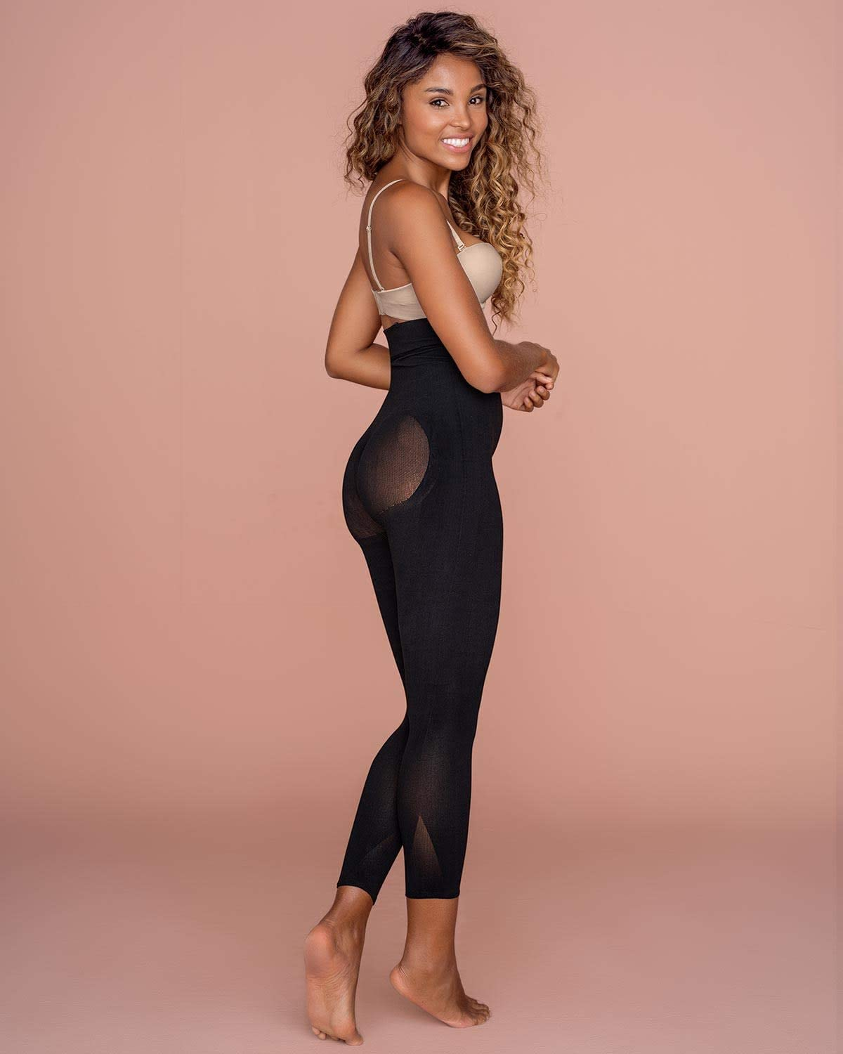 Firm Compression and Butt Lifter Leonisa Backless Body Shaper