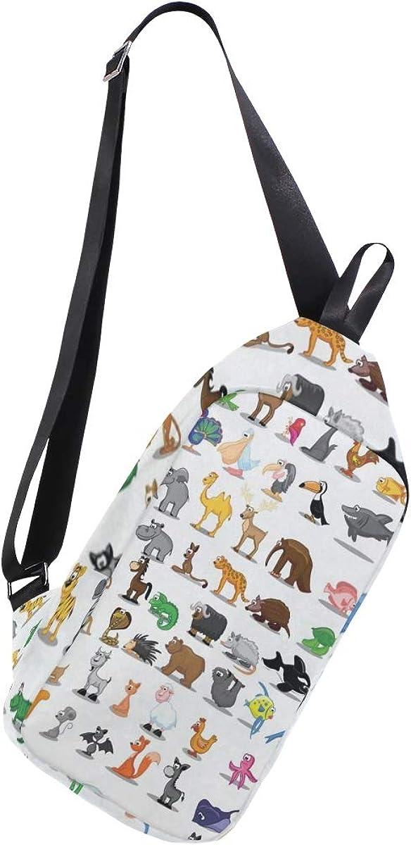 Sling Bag Cute Kids Animal...
