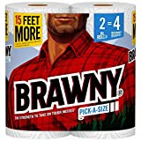 Brawny Paper Towels, 2 XL Rolls, Pick-a-Size, 2 = 4 Regular Rolls