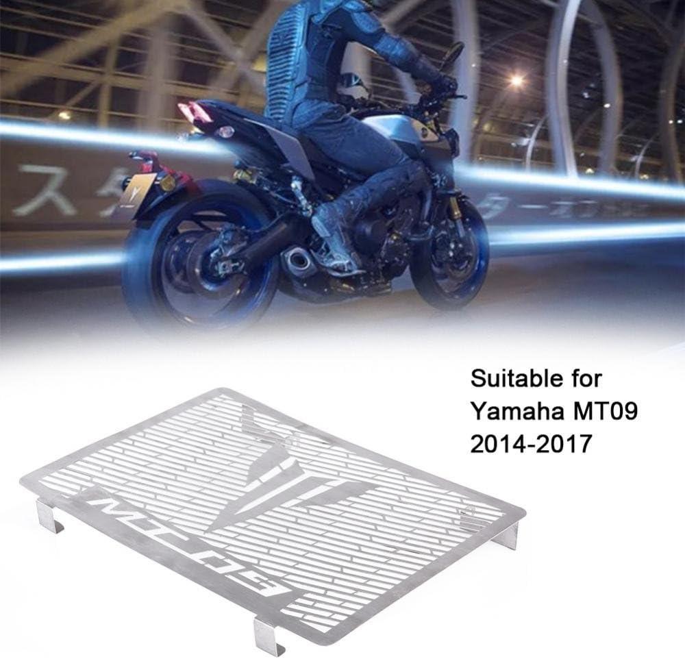 /Griglia radiatore griglia protettiva copertura per Yamaha MT09/2014/ Keenso moto in acciaio INOX/ /2017