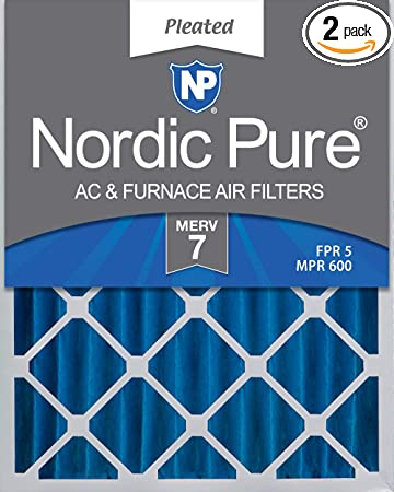 MERV 15 Pleated AC Furnace Air Filters 6 Pack Nordic Pure 18x24x4 3-5//8 Actual Depth