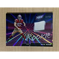 $35 » 2019 Panini Day Football Nick Bosa Game Worn Jersey Card 22/50 - Unsigned NFL Game Used Jerseys