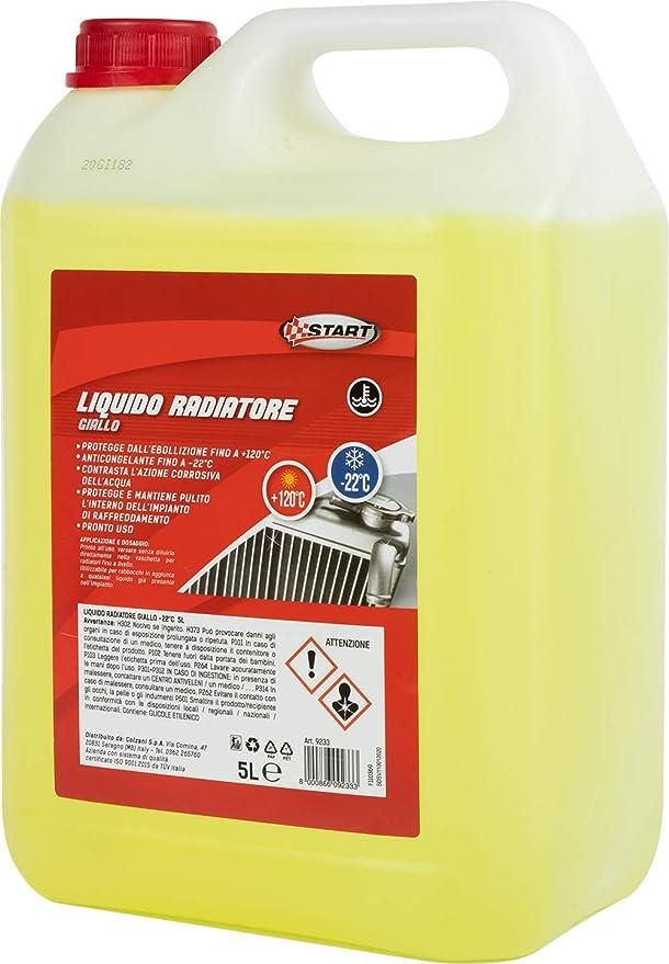 Start Kühlflüssigkeit Gelb 22 5le Chemie Auto Auto