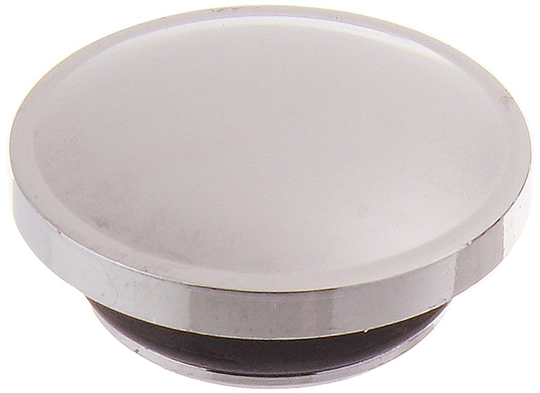 Rohl C7699P/1APC Country Kitchen and Country Bath Pressure Fit All Metal Screw Cover Cap Indice Only with Polished Chrome with Plain Blank Top No H or C To