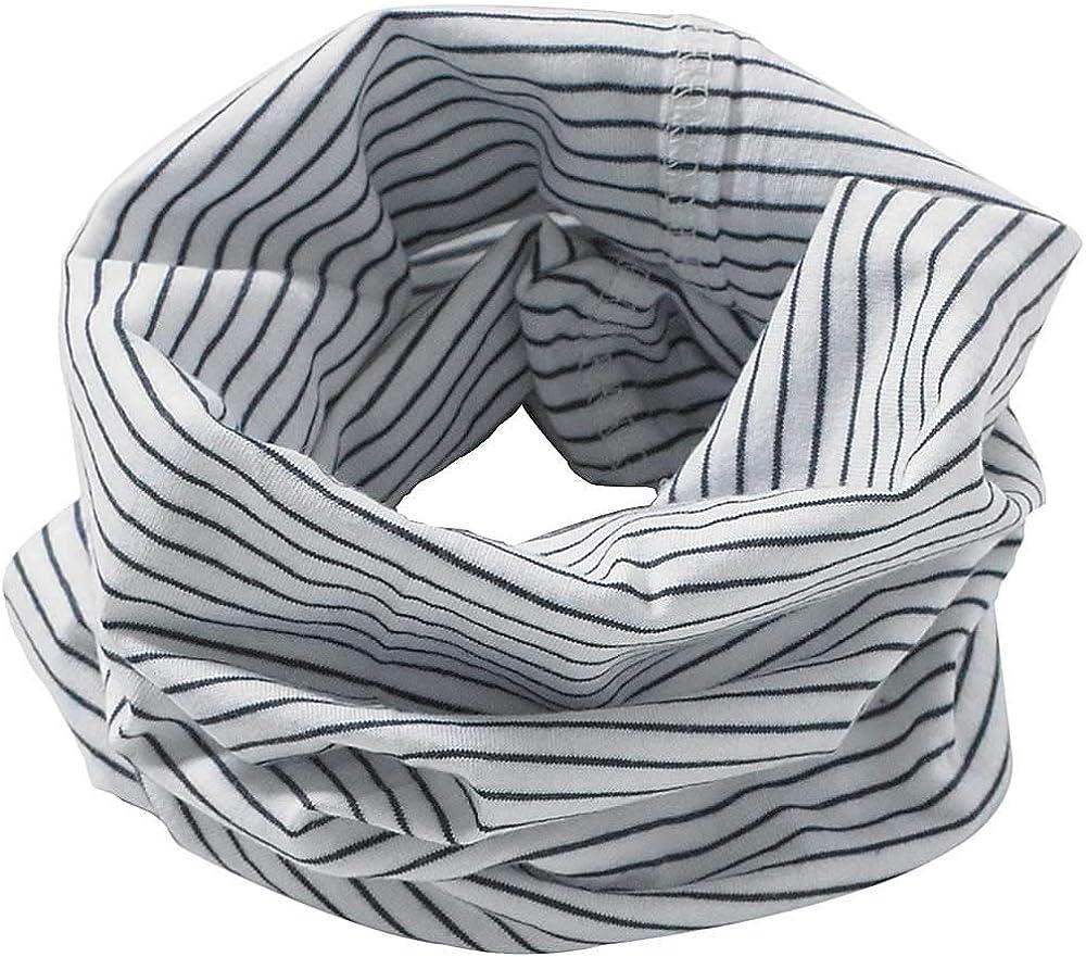 Bufanda de algodón para cuello para niños y niñas, multiuso Blanco ...