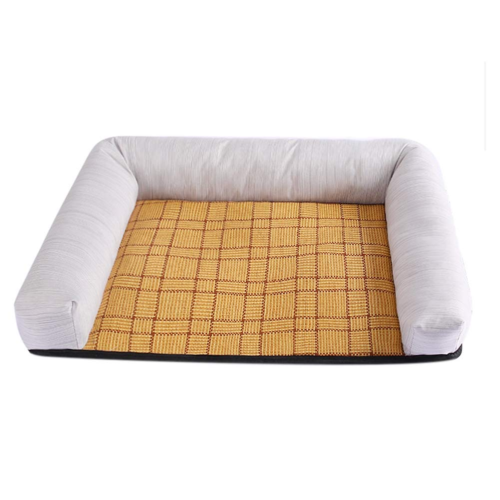 Pink X-Large Pink X-Large CHEN. Pet bed pet mat moisture-proof bite four seasons universal pet sleeping mat mat cat mat supplies pet supplies,Pink,XL