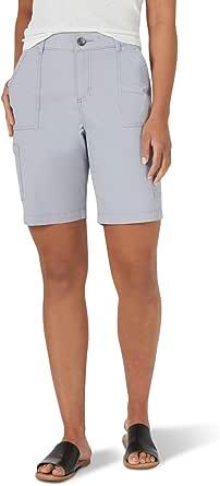 "Lee Women's Flex-to-Go 9"" Cargo Bermuda Short"