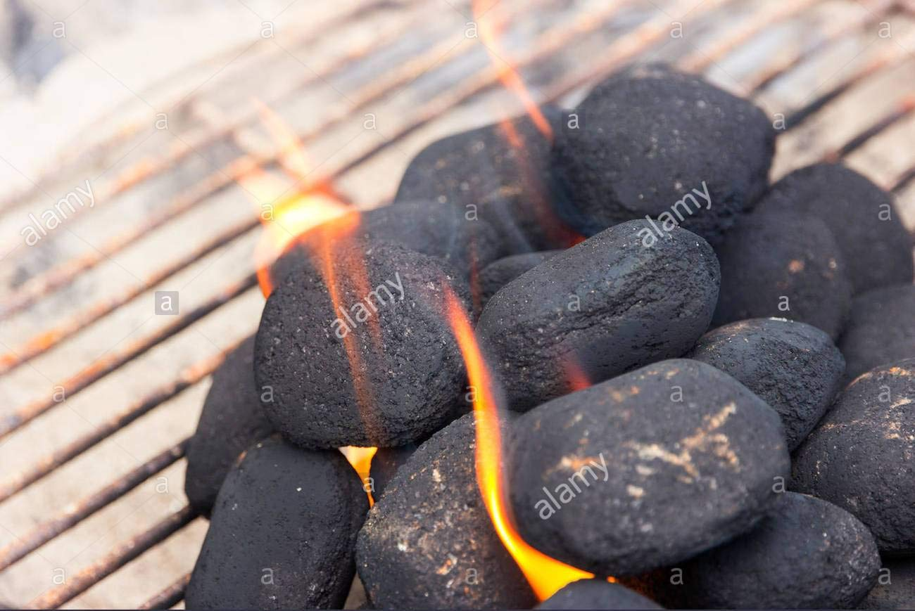Geekay 바베큐 석탄, 5Kg : Amazon.in: Garden &  옥외