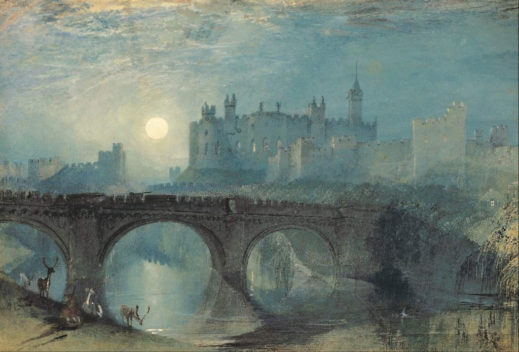 J.M.W. Turner Alnwick Castle c1829 Archival Quality Art Print Suitable for Framing