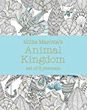 Millie Marotta's Animal Kingdom: Set of 3 Journals (A Millie Marotta Adult Coloring Book)
